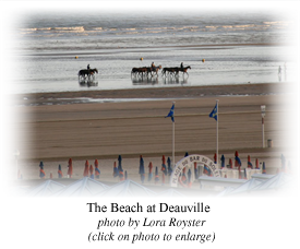 The Beach at Deauville