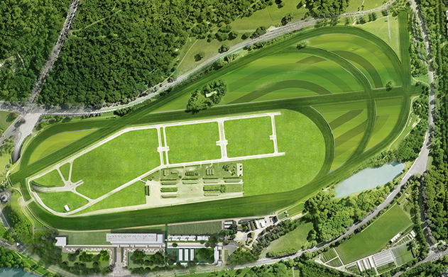Longchamp from the Air