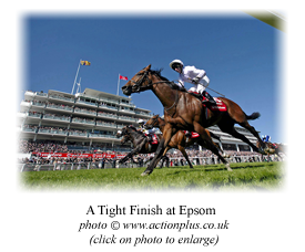 A Tight Finish at Epsom